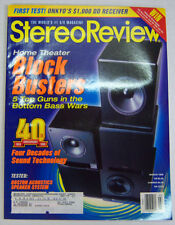 Stereo Review Sound & Vision Magazine Home Theater Block Busters 03/98 071712R1