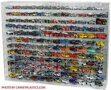 Hot Wheels Diecast Display Case 144 CAR 1:64 Fits Redlines