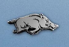 Arkansas Razorbacks Heavy Metal Auto Emblem [NEW] Chrome Car Decal Sticker CDG