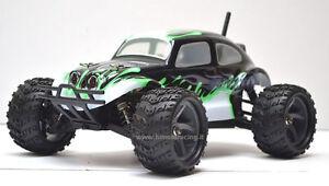 Escarabajo Monster Eléctrico Escobillas RC-370 Radio 2.4GHZ 1/18 Rtr 4WD HIMOTO