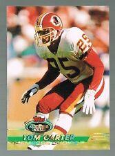 1993 STADIUM CLUB high number TOM CARTER #509 RC Redskins / notre Dame