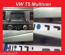 Original VW RFK Rückfahrkamera Kamera Nachrüst Set T5 Multivan RNS2 RNS 2 Caddy