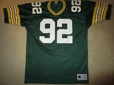 Reggie White #92 Green Bay Packers Super Bowl NFL Jersey 48 LG