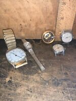 Vintage Timex Watches Various Styles,some Work.Some Damaged 5 Total! #2