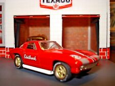 1966 66 CHEVY CORVETTE 427 LIMITED EDITION 1/64 RED  M2 EDELBROCK EQUIPMENT