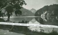 Füssen : Der Alpsee - um 1925          V 13-12