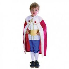 Child's King Toddler Fancy Dress Up Costume Kids Boys Outfit Age 2 - 3 Years