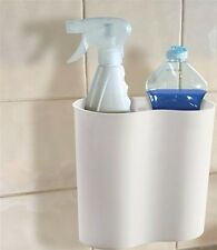 Bathroom shower storage box with suction cup caravan VW camper motorhome boat RV