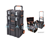 """3in1 22"""" Tool Box Portable Rolling Cart Professional Storage Organizer Toolbox"""