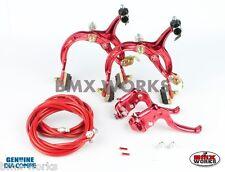 Dia-Compe MX1000 - MX122 Red Brake Set - Old Vintage School BMX