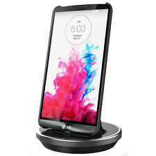 For LG G4, G3,  Flex 2 & Tribute: Sync & Charge Dock, Dual Layered cases Fit