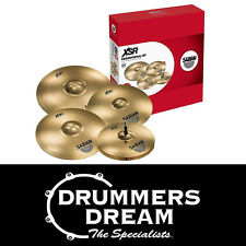 "Brand New SABIAN XSR Performance Set Cymbal Pack 14"" 16"" 20"" with Free 18"" Crash"