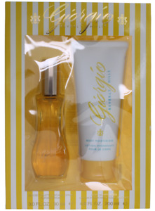 Giorgio Yellow By Giorgio Beverly Hills For Women Set: EDT 3 + Body Lotion 6.8