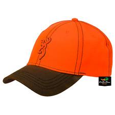 NEW BROWNING OPENING DAY BLAZE ORANGE HAT BALL CAP BUCKMARK LOGO