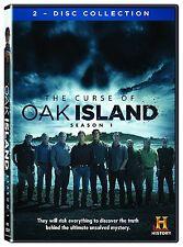 THE CURSE OF OAK ISLAND - SEASON 1  -  DVD - Region 2 UK Compatible - Sealed