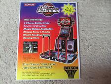 DANCE DANCE REVOLUTION SUPER NOVA DDR    ARCADE GAME  FLYER    CF-A