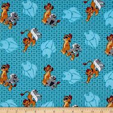 Disney Lion Guard Friend Power 100% cotton fabric by the yard