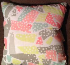 "Oh Joy! Decorative Pillow Pastel 18X 18"" Neon Baby Nursery NEW NWOT (HAVE 3)"