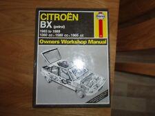 Citroen BX Haynes Owners Workshop Manual, 1983 -1989