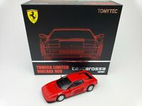 1:64 Tomytec Tomica Limited Vintage Neo Ferrari Testarossa Late 1987 Red TLV-N