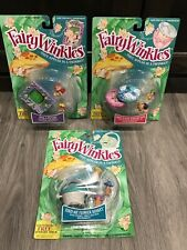 Kenner 1993 Fairywinkles Collection Of 3 Jewelry Box, Flower BaskeT, Picture