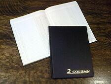 "Adams Account Book, 2 Columns, 7 x 9.25"", Black, 80 Pages, # ARB8002M, Ledger"