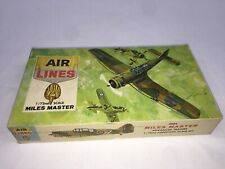 Air Lines Airplane Model Kit Miles Master Advanced Trainer Scale 1/72 Jc-Jl