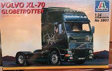 New 1:24 Italeri Volvo Xl-70 Globetrotter Model Kit 3801 Open Box