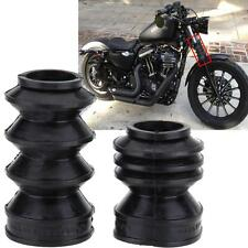 Avant Shock Bottes Soufflet pour Harley Davidson Sportster XL883 1200 39mm Fork