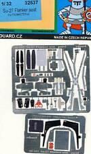 eduard Su-27 (Su-30) Flanker seatbelts SitzGurte Ätzteile Ätzsatz 1:32 Trumpeter