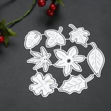 Leaf Metal Cutting Dies Stencil Scrapbook Paper Card Craft Embossing DIY Die-Cut