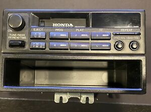 2001 2002 Honda Civic Cassette Player Radio NICE 2PC3 OEM 39100-S5A-A110-M1