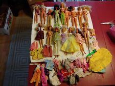 Vintage Mixed Lot Barbie Dolls Barbie Family Clothes Tlc Please Read Parts