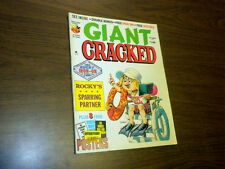 GIANT CRACKED magazine 1977 September humor satire tv movies Mad related
