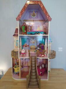 Kid Kraft Disney Princesses Beauty And The Beast Belles Enchanted Castle Playset