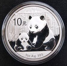 Chinese Mint China ¥ 10 Yuan Panda 2012 1 oz .999 Silver Coin