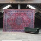 Large Antique oriental Country House Rug