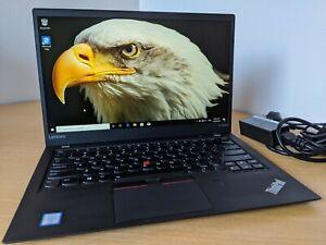 Lenovo Thinkpad X1 Carbon 5th Gen FHD IPS i5-6300U 8GB RAM 1TB NVMe Win10p 11
