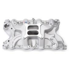 Edelbrock Intake Manifold 2166; Performer Black Aluminum for Ford 429/460 BBF