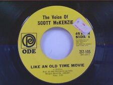 "SCOTT McKENZIE ""LIKE AN OLD TIME MOVIE / WHAT'S THE DIFFERENCE CHAPTER II"" 45"