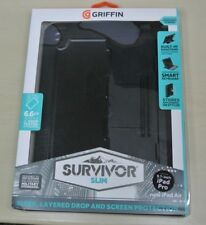 Griffin Survivor Slim Rugged Tough Case Cover & Stand For new iPad Air