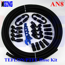AN-8 AN8 PTFE Teflon Oil Line E85 Fuel Hose End fitting Wrench Spanner adapter