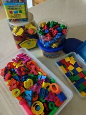 Educational Toy Set Lot for Kids - Letters/Blocks/Bears/Numb ers - Large Assorted