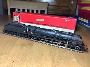 Jouef  HO Gauge 8351 SNCf 4-8-2 Class 241P Locomotive 241P9 in black