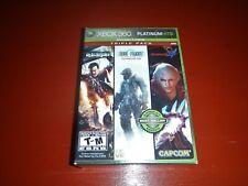Capcom Triple Pack -- Platinum Hits (Microsoft Xbox 360, 2009)-New