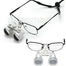 Dentist Dental Surgical Medical Binocular Loupes Optical Glass Loupe 3.5X 420mm