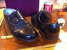 Samuel Windsor Quality Leather Black Smart Mens Formal Shoes Size 8