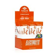Vitalyte Electrolyte Stick Pack 25 Count Box - Orange SHIPS FAST!
