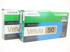 10 x FUJI FUJICHROME VELVIA 50 120 CHEAP SLIDE FILM by 1st CLASS ROYAL MAIL