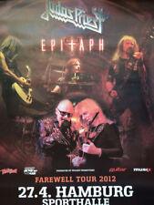 Judas Priest 2012 A1 84cm Hamburg +Variants Tour Konzert Plakat Concert Poster
